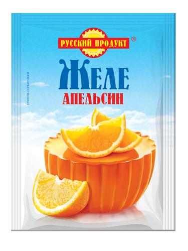 "ЖЕЛЕ ""ВКУС АПЕЛЬСИНА"""