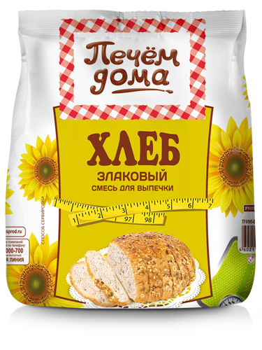 """Печем дома Хлеб """"Злаковый"""" для выпечки"""