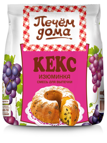 "КЕКС ""ИЗЮМИНКА"""