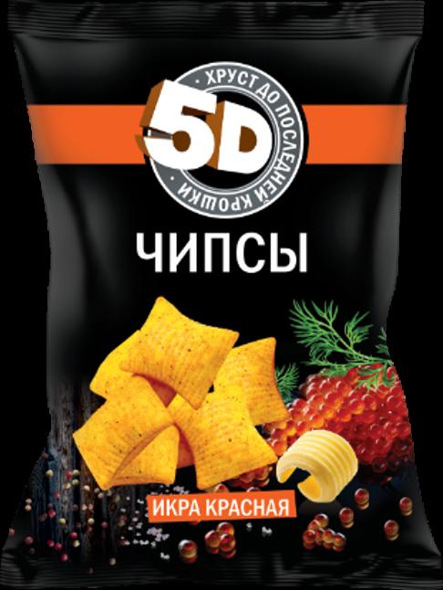 """Чипсы пшеничные со вкусом """"ИКРА КРАСНАЯ"""""""