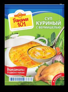Суп Русский продукт куриный с вермишелью